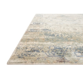 Alexander Home Austen Antique Washed Traditional Inspired Area Rug