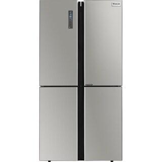 """Thor Kitchen - 22.6 cu. Ft 36"""" Counter-Depth 4 Door French Door Refrigerator with Ice Maker"""