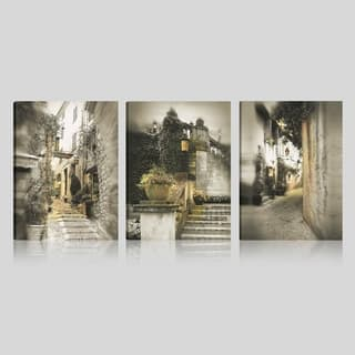 Art Maison Canada, Landscape Photography Print Street Gallery Wrapped Canvas Wall Art