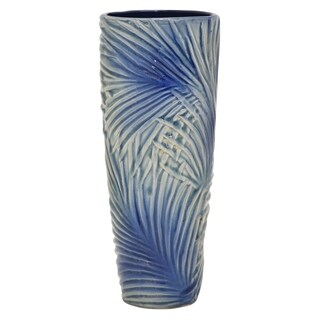 "Three Hands  - 54551 - 13 "" Ceramic Vase - 5.5 x 5.5 x 13"