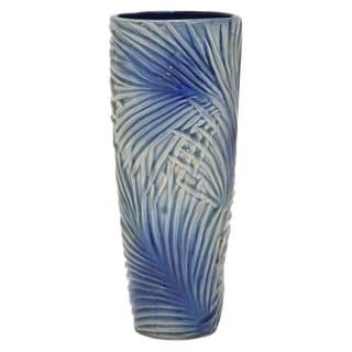 """Three Hands  - 54551 - 13 """" Ceramic Vase - 5.5 x 5.5 x 13"""