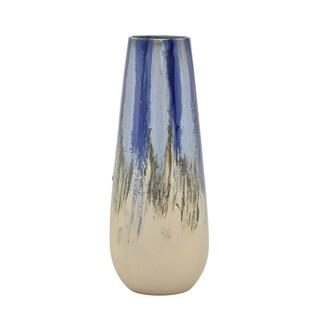 """Three Hands  - 54555 - 17.75 """" Ceramic Vase - 7 x 7 x 17.75"""