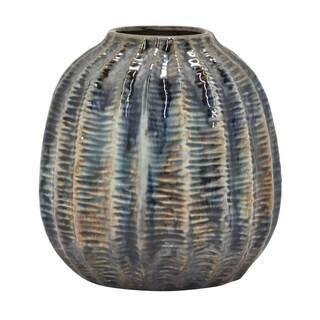 """Three Hands  - 54549 - 6 """" Ceramic Vase - 5.75 x 5.75 x 6"""
