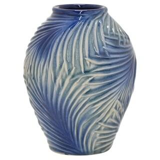 """Three Hands  - 54553 - 8.75 """" Ceramic Vase - 6.75 x 6.75 x 8.75"""
