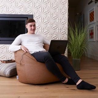 Big Joe Massage Vibe Bean Bag Chair, Multiple Colors