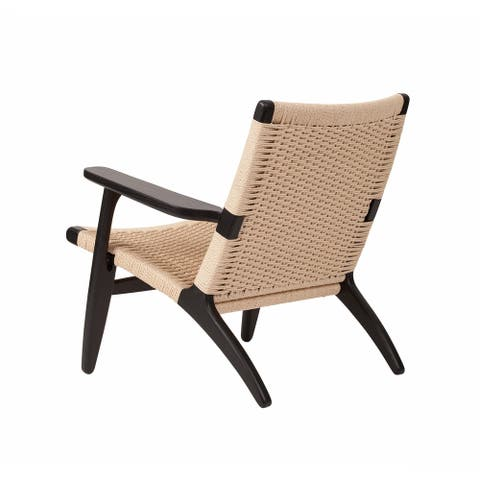 Ibiza Easy Lounge Chair Black Lacquer
