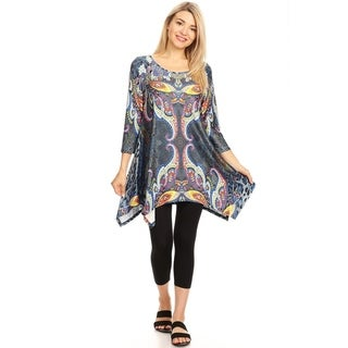 White Mark Woman's Marlene Tunic
