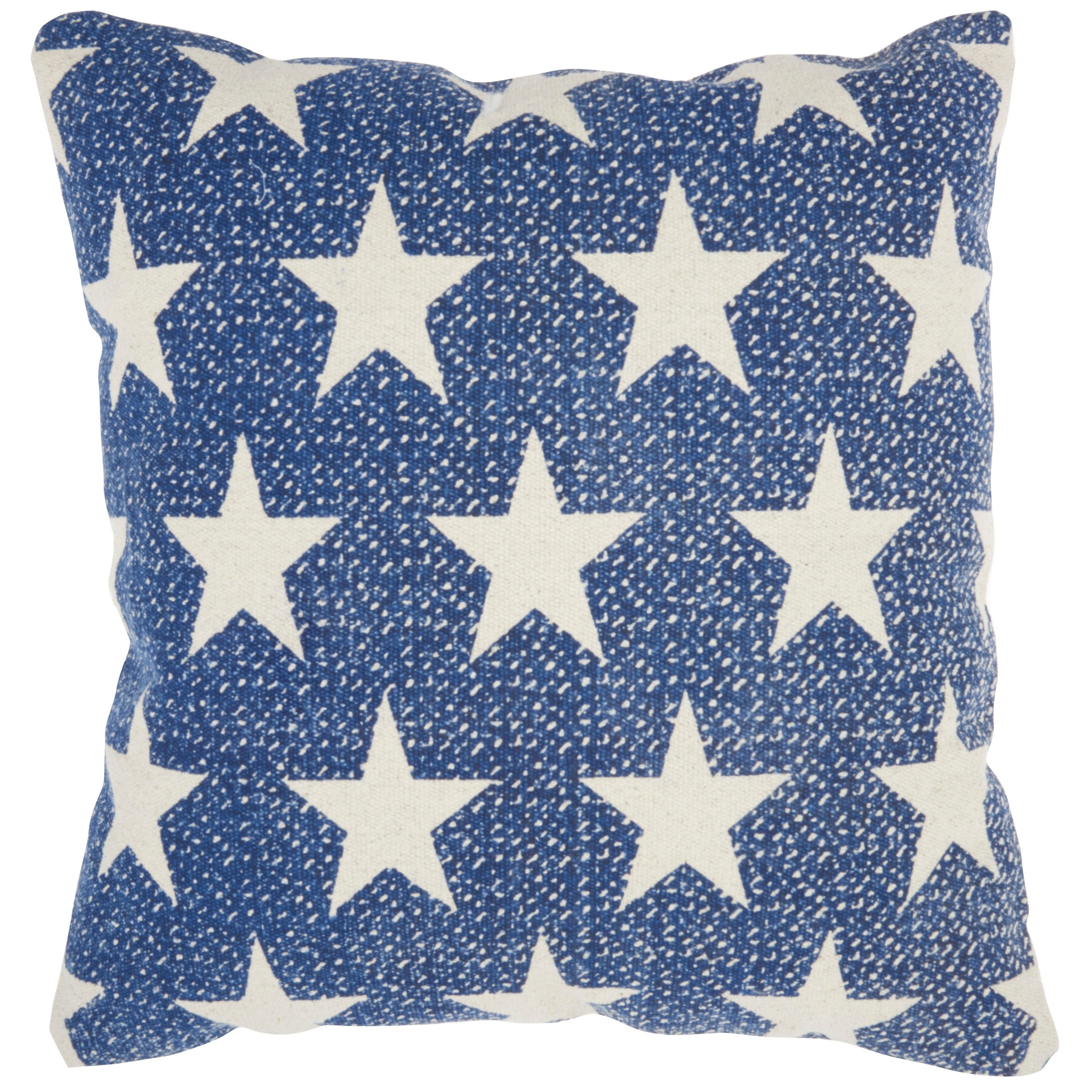 Mina Victory Printed Stars Throw Pillow 20 X 20 Overstock 28287712