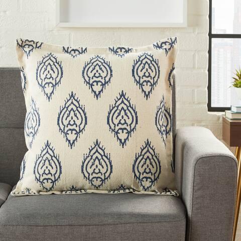 Porch & Den October Ikat 20-inch Throw Pillow