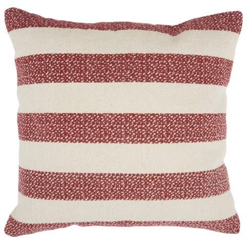 Porch & Den O'Day Printed Stripes 20-inch Throw Pillow