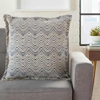 Porch & Den Mrosik Waves 20-inch Throw Pillow