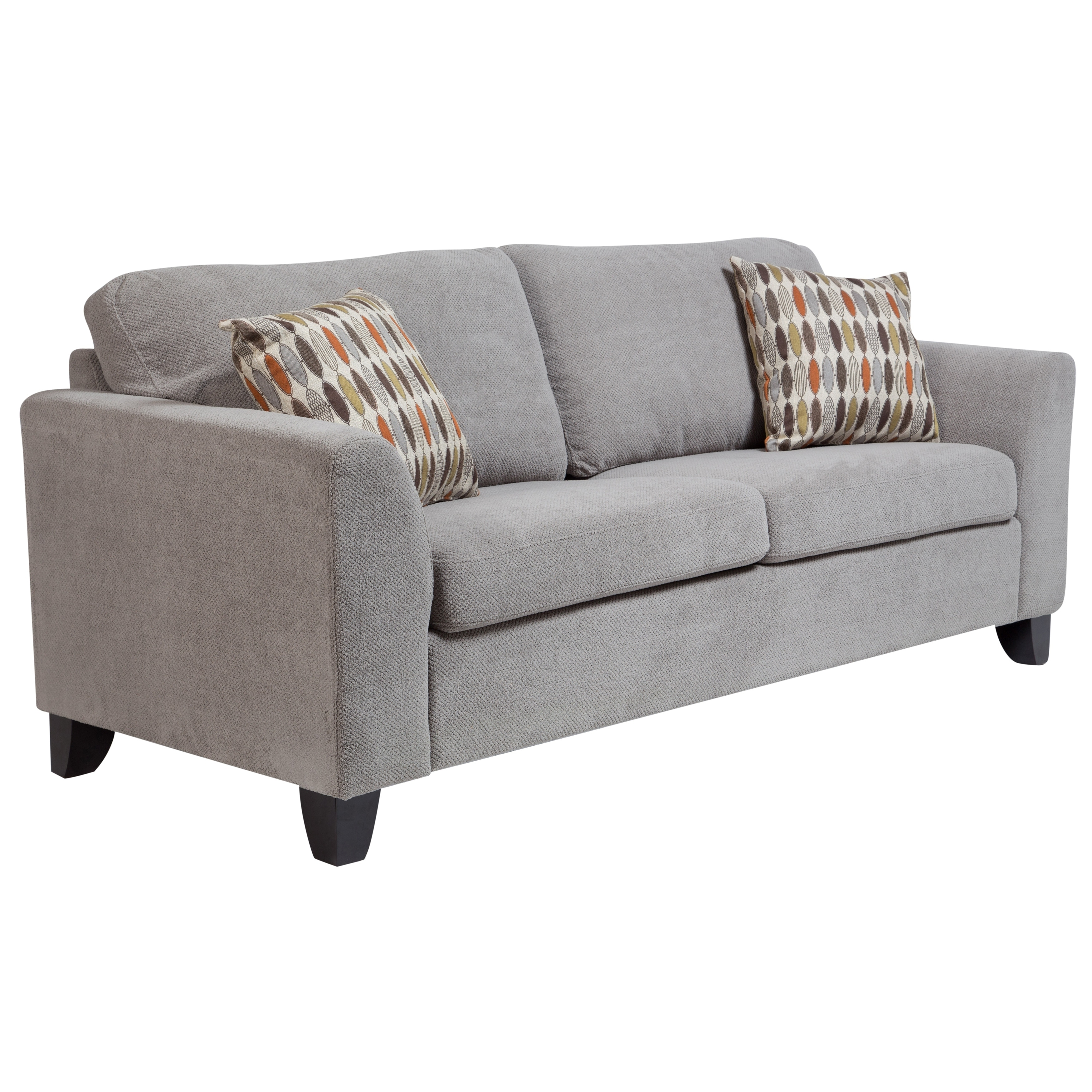 Peachy Brighton Contemporary Memory Foam Sleeper Sofa Dove Gray Gmtry Best Dining Table And Chair Ideas Images Gmtryco