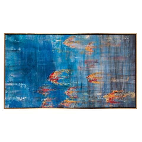 Caribbean Sea #2 Canvas Wall Art - N/A