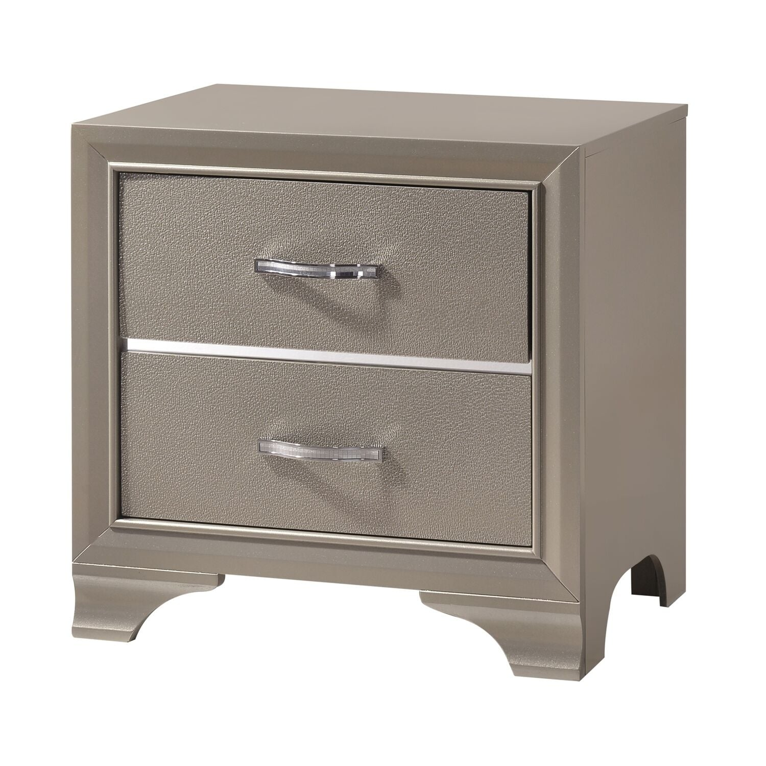 Buy Gold Mirrored Finish Nightstands Bedside Tables