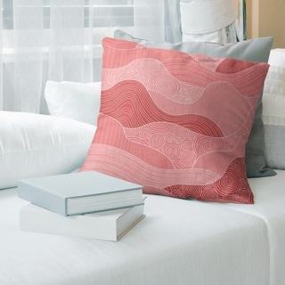 Porch & Den Camellia Classic Waves Throw Pillow