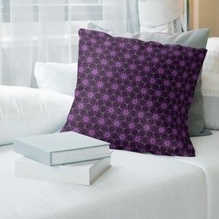 Porch & Den Gayle Classic Ornate Circles Throw Pillow