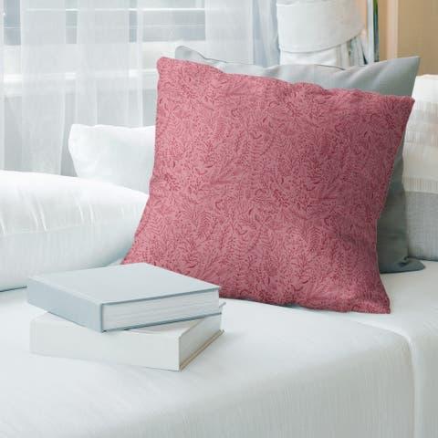 Porch & Den Deette Ditsy Floral Pattern Throw Pillow