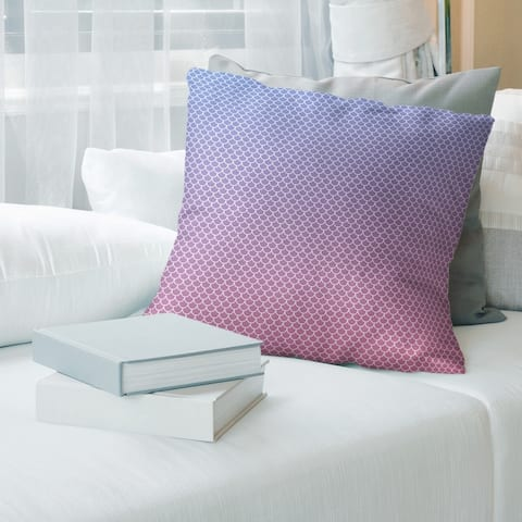 Porch & Den Alsea Mermaid Scales Throw Pillow
