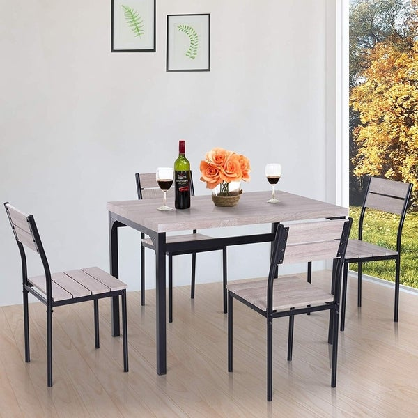 Porch & Den Pender 5-piece Dining Table and Chair Set. Opens flyout.