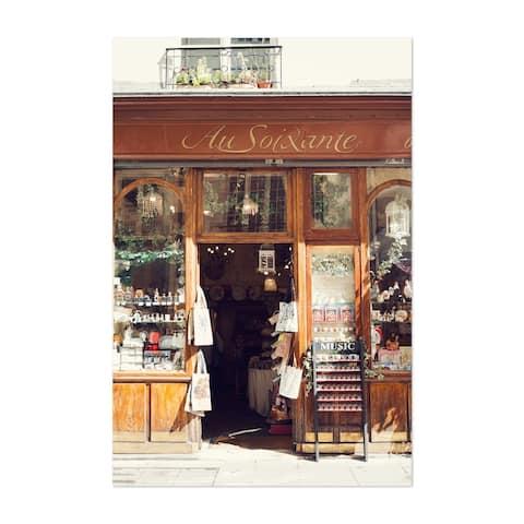 Noir Gallery Paris France Street Photography Unframed Art Print/Poster