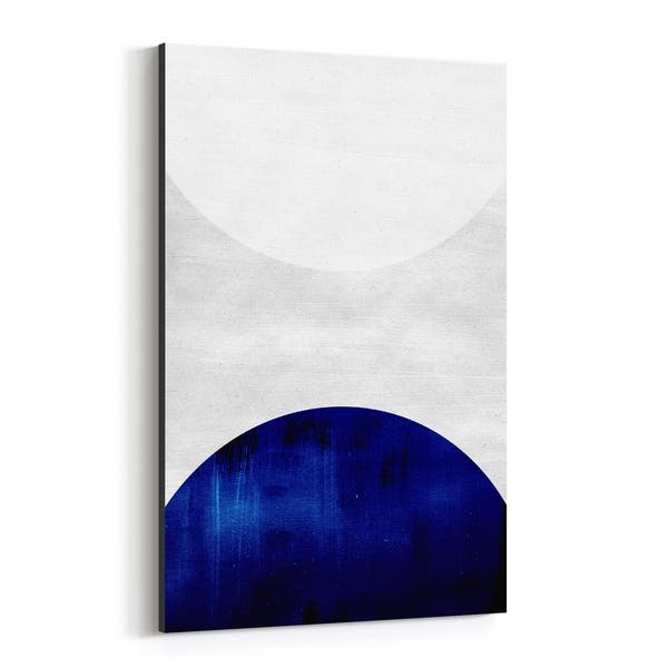 Shop Noir Gallery Abstract Geometric Shapes Canvas Wall Art