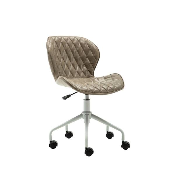 Awesome Shop Porthos Home Baer Armless Swivel Office Chair Pu Uwap Interior Chair Design Uwaporg
