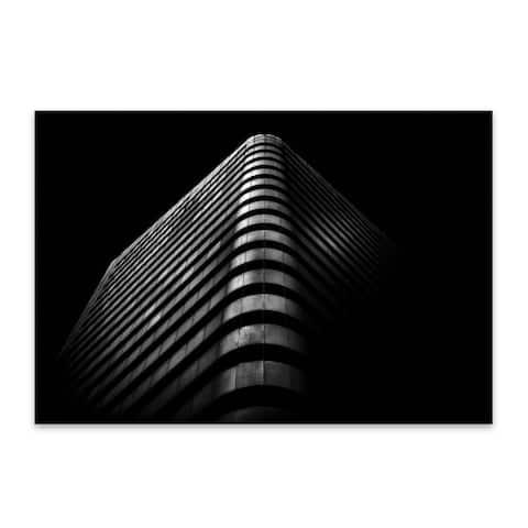 Noir Gallery Toronto Architecture Urban Photo Metal Wall Art Print