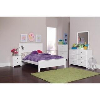 Meldrum 4-piece Platform Bedroom Set with 2 Nightstands