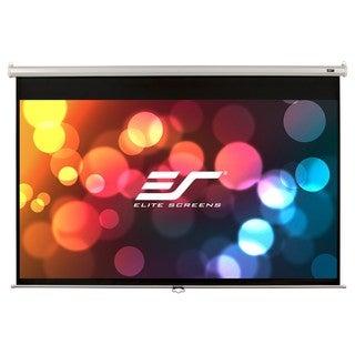 Elite Screens M85XWS1 Manual Ceiling/Wall Mount Manual Pull Down Proj
