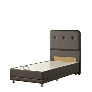 Casa Rest Patented Leatherette Storage Bed