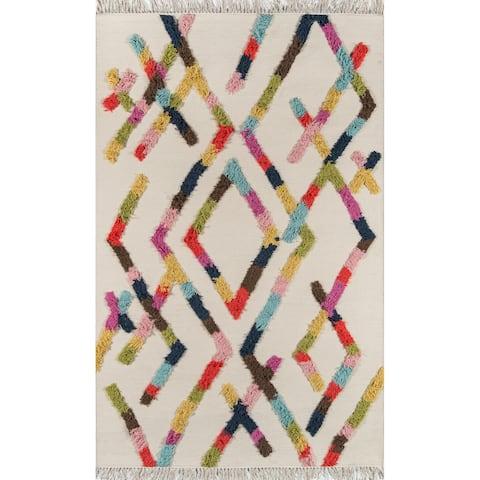Novogratz by Momeni Indio Ramona Hand Made Wool Area Rug