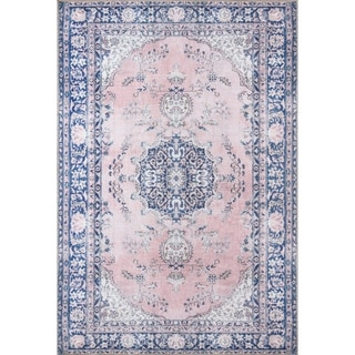 Porch & Den Rankin Medallion Pattern Polyester Area Rug