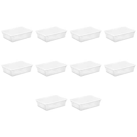 Sterilite, 28 Qt./27 L Storage Box