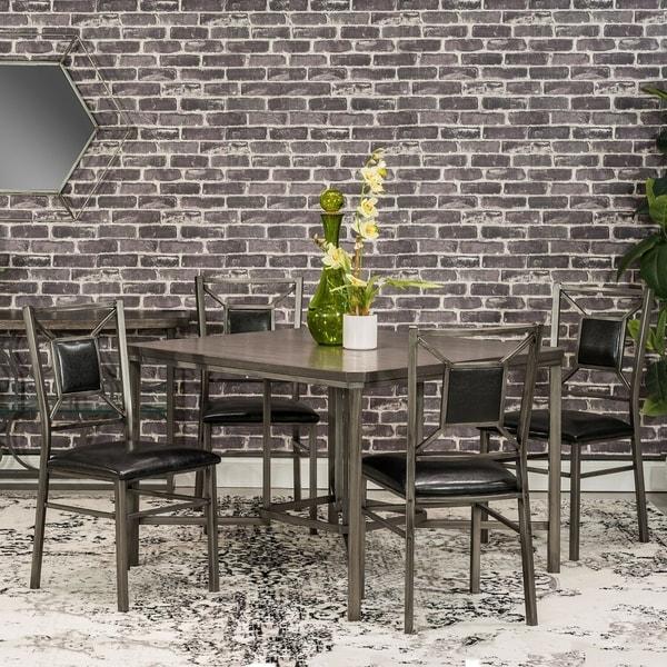 Falkville Black 5-piece Dining Set