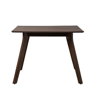 Clyve Brown Wood Dining Table