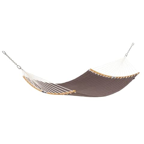 "Classic Accessories Ravenna ConnectCurve Quilted Double Hammock, 81""L x 55""W"