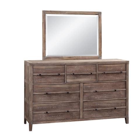 Asher 6-Piece Rustic Modern Bedroom Set