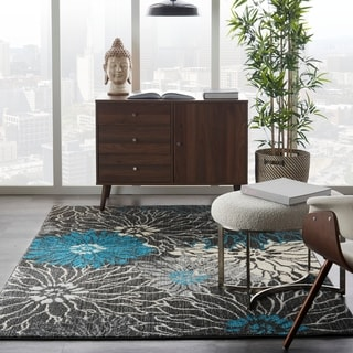 Nourison Passion Abstract Floral Area Rug