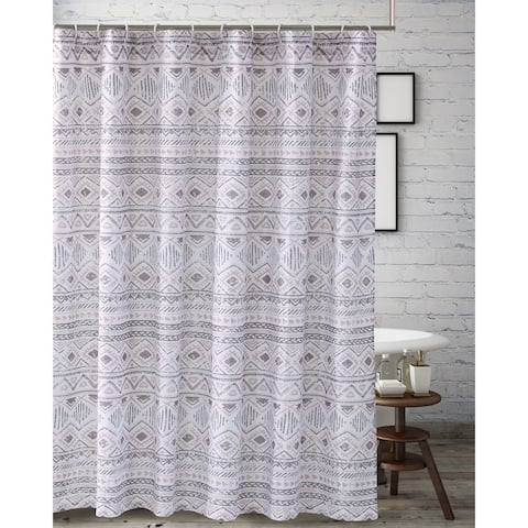Barefoot Bungalow Denmark Ivory Shower Curtain