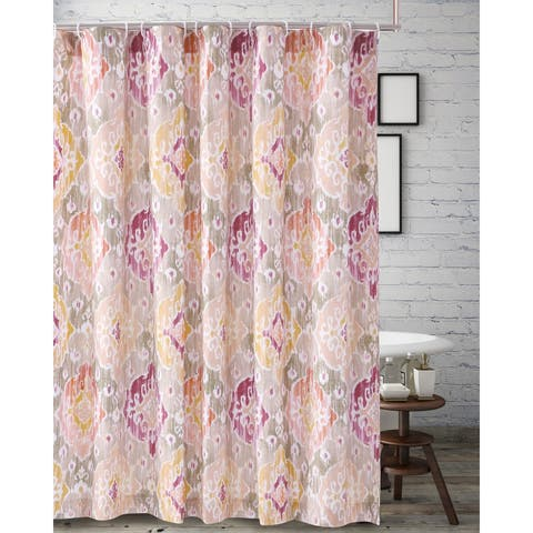 Barefoot Bungalow Ibiza Blush Shower Curtain