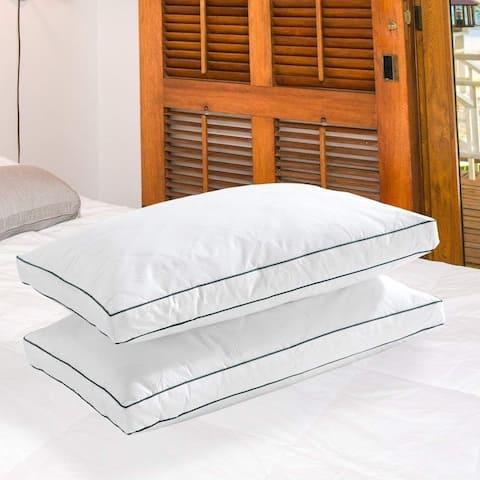 Porch & Den Heaton Down Feather Queen-size Pillows (Set of 2)