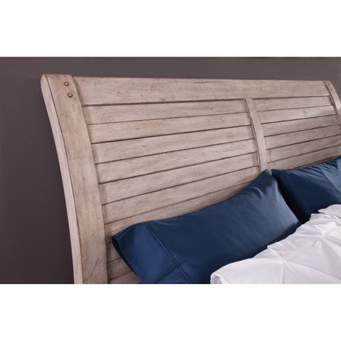 Asher Sleigh Headboard by Greyson Living