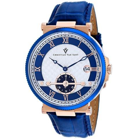 Christian Van Sant Men's Clepsydra Watch - CV1702