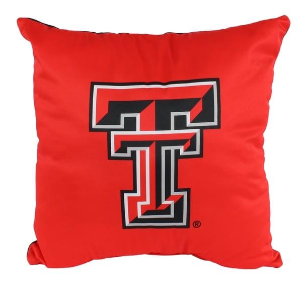 Texas Tech Red Raiders 16 Inch Decorative Throw Pillow