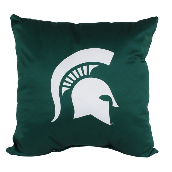 Michigan State Spartans 16 Inch Decorative Throw Pillow