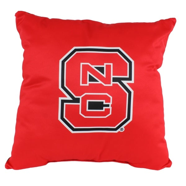 North Carolina State Wolfpack 16 Inch Decorative Throw Pillow