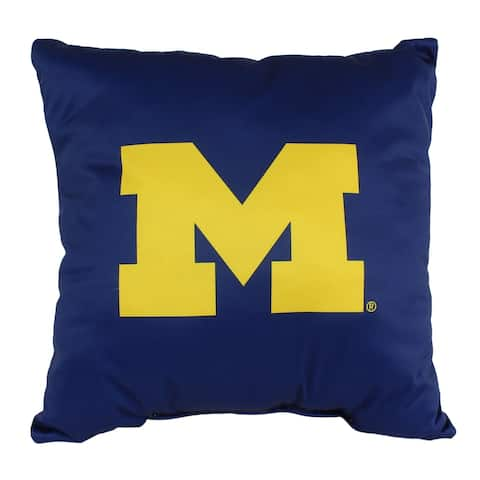 Michigan Wolverines 16 Inch Decorative Throw Pillow