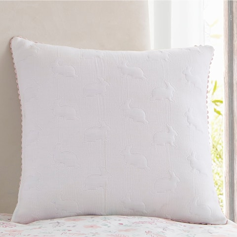 Porch & Den Whitley Bunny 16-inch Decorative Pillow