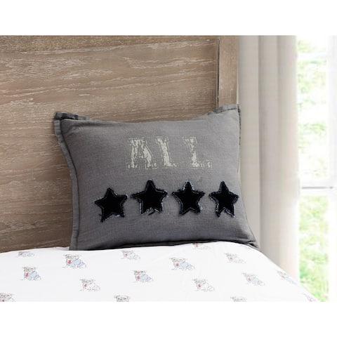 Porch & Den Gibraltar All Star' 16x12 Decorative Pillow