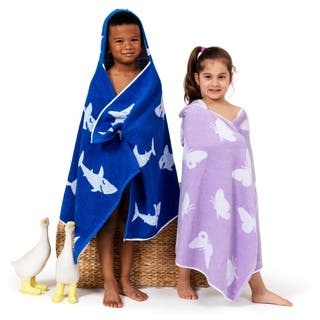 Sweet Kids Turkish Aegean Cotton Hooded Bath and Beach Towel Wrap